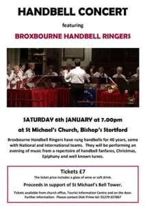 Handbell Concert 6th Jan 2018