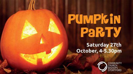 Pumpkin Party 27.10.18