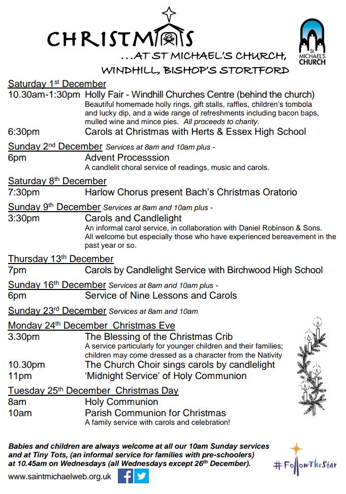 Christmas at St Michael's 2018